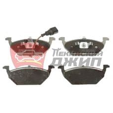 Колодки тормозные передние BRILLIANCE V5 (SHZ3501083)