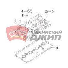 Прокладка клапанной крышки , HAVAL H6, H6 Coupe, F7, F7x ,H9  2,0