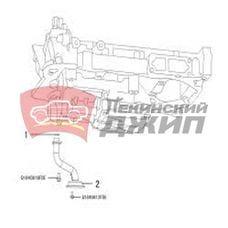 Маслоприемник HAVAL дв.4С20 (бензин 2л) H6 Coupe, H8, H9, F7
