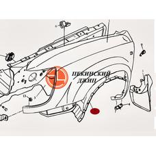 Защита арки правая переднего колеса