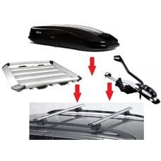 Багажник на крышу(при установленых рейлингах)