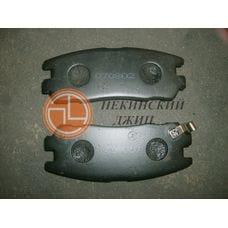 Колодка тормозная задняя (комплект)
